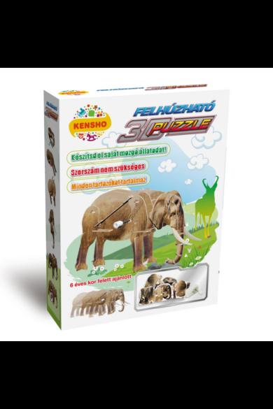 3d puzzle, elefánt Hope Winning