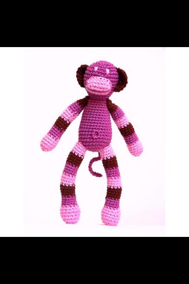 Horgolt majom lány Mamazon