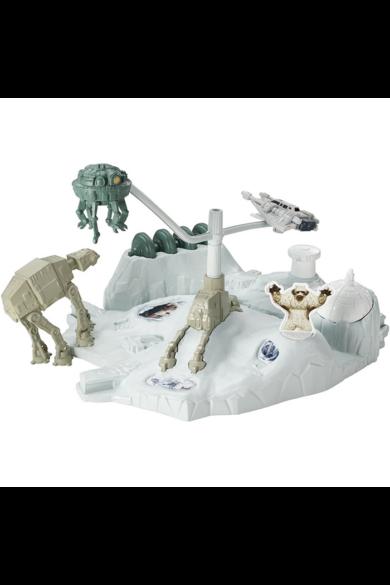 Star Wars Csillaghajó közepes pálya - Hoth Hot Wheels