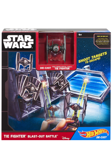 Star Wars Csillaghajó közepes pálya - Tie Fighter Hot Wheels