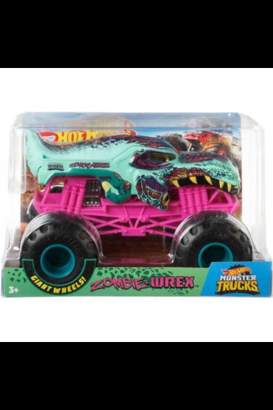 Hot Wheels Monster Trucks autók - Zombie Wrex