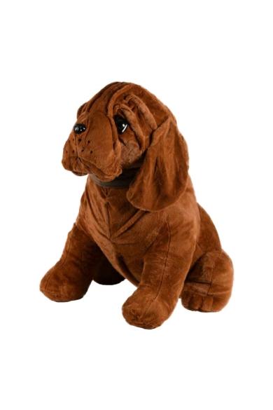Sharpei kutya, felfújós, plüss, 65 cm, + pumpa + hordozó