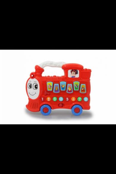 Bébi készségfejlesztő vonat hanggal, piros 460594 Jamara