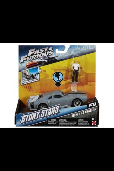 Halálos iramban kaszkadőr autó figurával DOM+ICE CHARGER