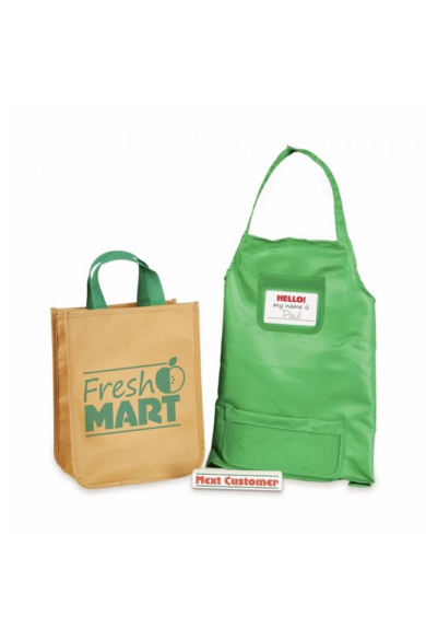 Melissa & Doug Szerepjáték kellékek, Élelmiszer bevásárló szett