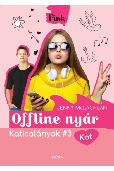 OFFLINE NYÁR - KATICALÁNYOK #3 - KAT - PINK KÖNYVEK