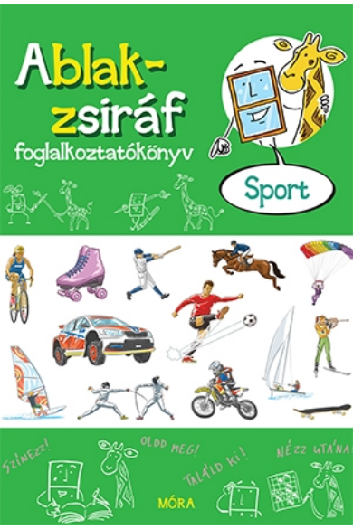 Ablak-zsiráf foglalkoztatókönyv - Sport