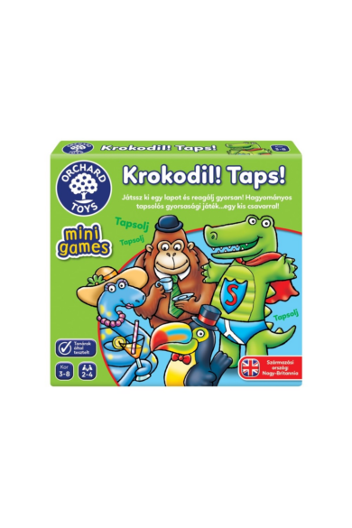 Mini Játék - Krokodil! Taps! Orchard Toys