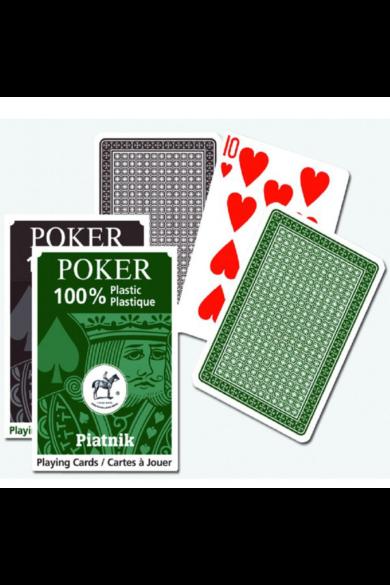 100% Plasztik Póker 1*55 lap kártya Piatnik