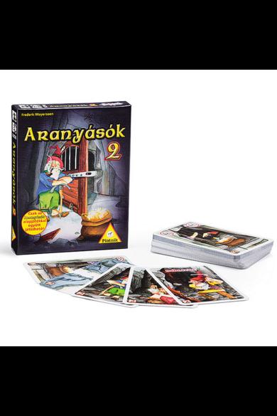 Aranyásók 2 -kiegészítő - kártyajáték Piatnik