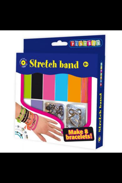 Kreatív szett - stretchkarkötő készítő Playbox