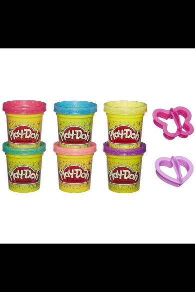 Csillogó gyurmakészlet Play-Doh