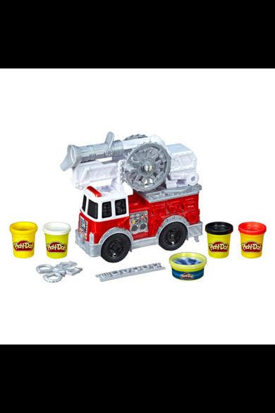 Play-Doh: Tűzoltóautó játékszett
