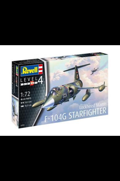 Revell Model Set F-104G Starfighter, 1:72 (63904)