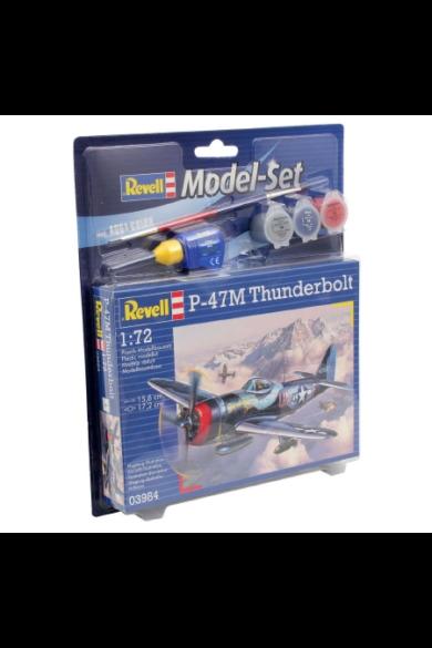 Revell Modell szett P-47 M Thunderbolt 1/72 (63984)