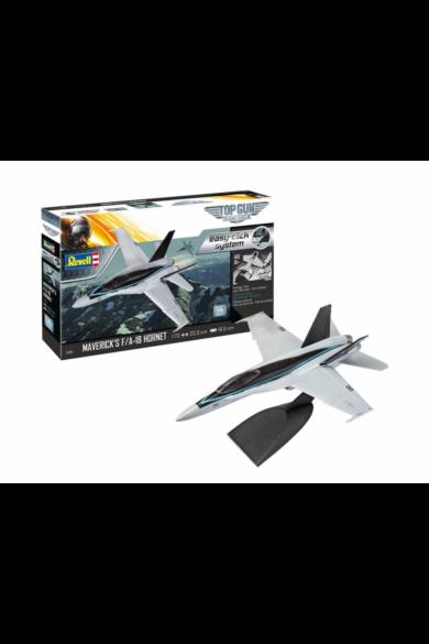 Revell Modell szett Easy Click F/A-18 Hornet Top Gun 1:72 (64965)