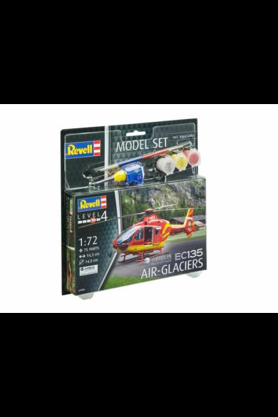 Revell Modell szett EC 135 Air-Glaciers makett 1:72 (64986)