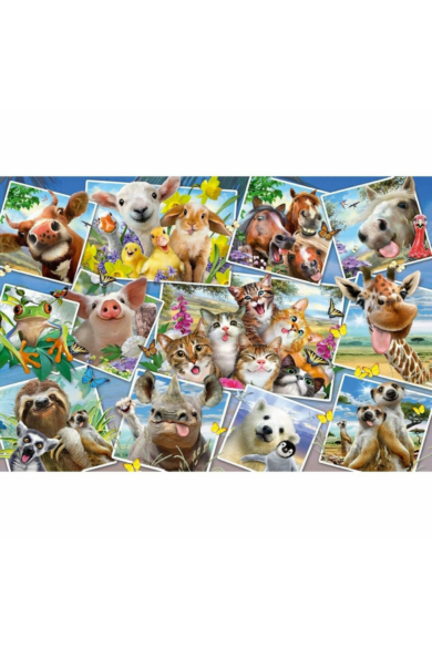 Animal Selfies puzzle 200 db-os 56294 Schmidt