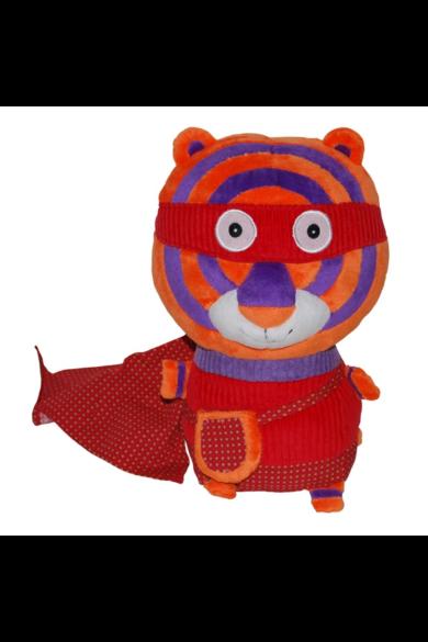 Plüssfigura - Zigg a tigris Super Zeros