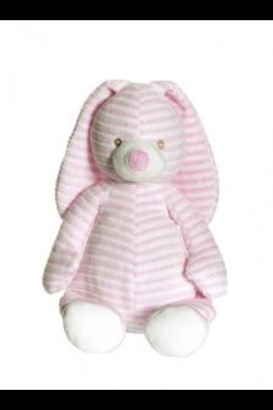Csíkos nyuszi, rózsaszín 2708 Teddykompaniet