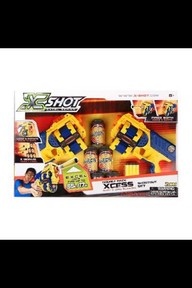 Forgótáras pisztoly (6 doboz, 10 korong, 24 nyíl) X Shot