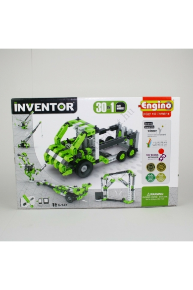 Engino Inventor motorizált modellek 30in1 /ENG3030/építőjáték