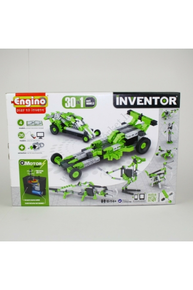 Engino Inventor motorizált modellek 30in1 /ENG3030/