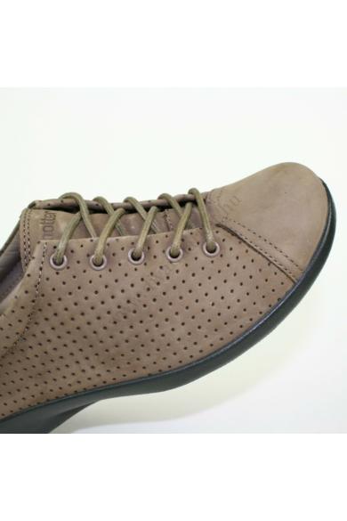 Eredeti HOTTER női bőr sportos kényelmi cipő, kellemes barna színben, NATURE modell,extra puha talpbélése kivehető, végig fűzős, uk4 37 méretbenÁllapota: új és címke nélküliBelső talphossz: 23.5 cmSarokmagasság: 2.5 cm