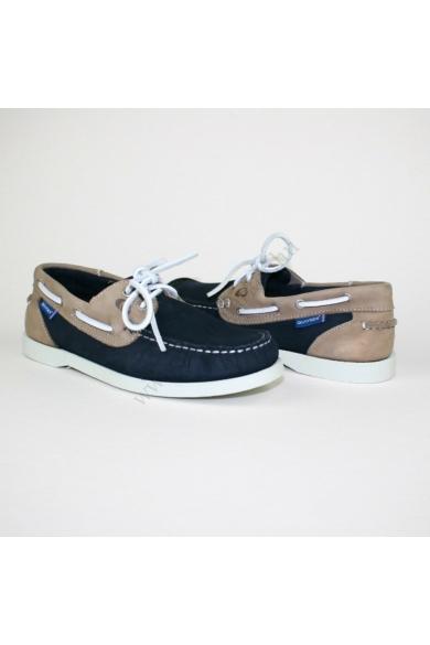 Eredeti QUAYSIDE férfi bőr kényelmi cipő, mokaszin uk5.5 39