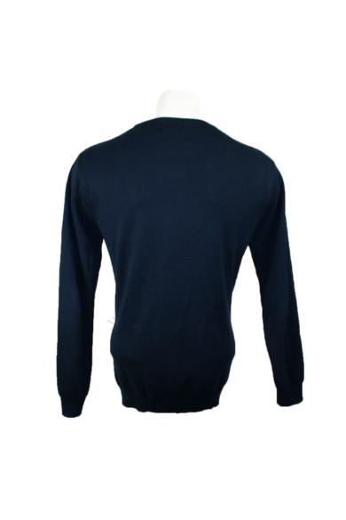 Eredeti NEXT férfi kerek nyakú pulóver L méretben