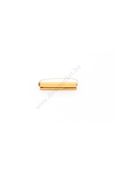 PARIS záró charm karkötő kiegészítő flexibilis karkötőhöz Színe: arany Anyaga: ötvözet Építs flexibilis karkötőt az általad választott charmokkal!