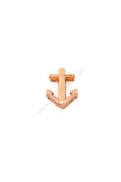 PARIS anchor (horgony) charm karkötő kiegészítő flexibilis karkötőhöz, a nyár sláger szimbóluma Színe: rózsaarany Anyaga: ötvözet Építs flexibilis karkötőt az általad választott charmokkal!