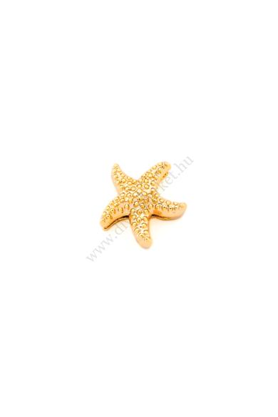 PARIS tengeri csillag charm karkötő kiegészítő flexibilis karkötőhöz Színe: arany Anyaga: ötvözet Építs flexibilis karkötőt az általad választott charmokkal!