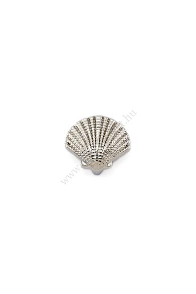 PARIS kagyló charm karkötő kiegészítő flexibilis karkötőhöz, a nyár sláger szimbóluma Színe: ezüst Anyaga: ötvözet Építs flexibilis karkötőt az általad választott charmokkal!