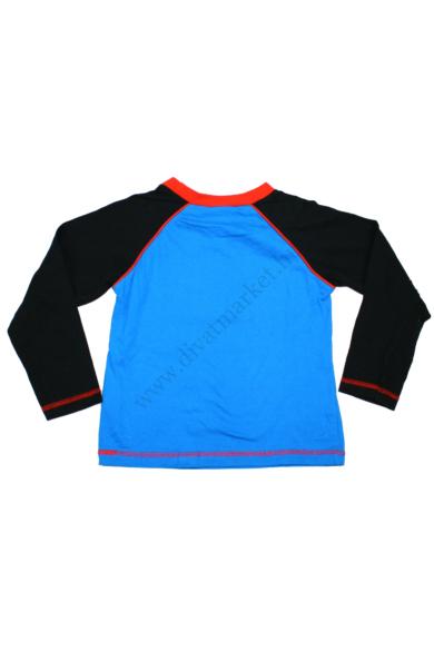 Eredeti BATMAN fiú hosszú ujjú póló, 4-5 éves 104-110 cm méretben, állapota: újszerű, mért adatok: váll szélesség: 34 cm mellszélesség: 34 cm hossz: 40 cm ujjhossz: 44 cm