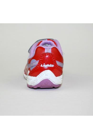 Eredeti CLARKS kislány bőr sportos cipő, kellemes piros színben, extra puha talprésszel, pántja tépőzáras, a nyuszi minta villog, uk5.5G 22 méretben Állapota: újszerű Belső talphossz: 12 cm Sarokmagasság: 1.5 cm