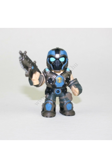 Eredeti GEARS OF WAR ANTHONY CARMINE mini játék figura, 9 cm magas állapota: újszerű