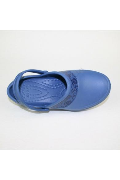 Eredeti CROCS gyerek papucs, kellemes kék színben, kényelmes viseletet biztosít, W4 33.5 méretben Állapota: újszerű Belső talphossz: 212-221 mm Sarokmagasság: 3 cm