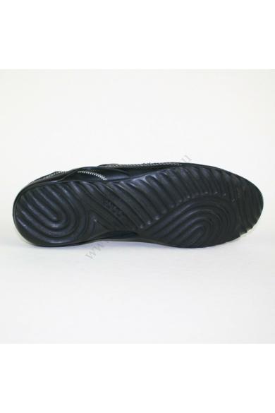 Eredeti ECCO női bőr sportos cipő, kellemes fekete színben, gyorsfűzős, kivehető talpbélése kényelmes viseletet biztosít, uk5.5 39 méretben Állapota: újszerű Belső talphossz: 25 cm Sarokmagasság: 2 cm
