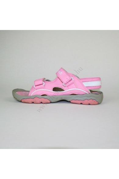 Eredeti TIMBERLAND lányka bőr sportos szandál, kellemes rózsaszín színben, pántjai tépőzárasok, kényelmes viseletet biztosít, uk2 34.5 méretben Állapota: újszerű Belső talphossz: 22.5 cm Sarokmagasság: 2.5 cm