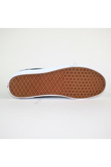 Eredeti VANS férfi sportos cipő, kellemes sötétkék színben, extra puha talpbélése kényelmes viseletet biztosít, uk9 44 méretben Állapota: újszerű Belső talphossz: 28.5 cm Sarokmagasság: 3 cm