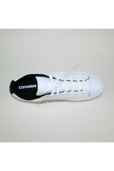 Eredeti CONVERSE férfi tornacipő, kellemes fehér színben, 147391C modell, extra puha talpbélése kényelmes viseletet biztosít, uk9 44 méretben Állapota: új és címke nélküli Belső talphossz: 28.5 cm Sarokmagasság: 3 cm