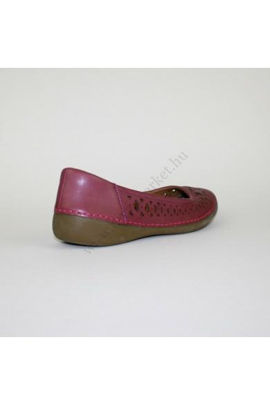 CLARKS női bőr kényelmi cipő, kellemes padlizsán színben, kívül-belül bőr anyagú, párnázott sarokrésszel,extra puha kivehető talpbélése rendkívül kényelmes viseletet biztosít, uk4 37 méretben Állapota: újszerű Belső talphossz: 23.5 cm Sarokmagasság: 3 cm