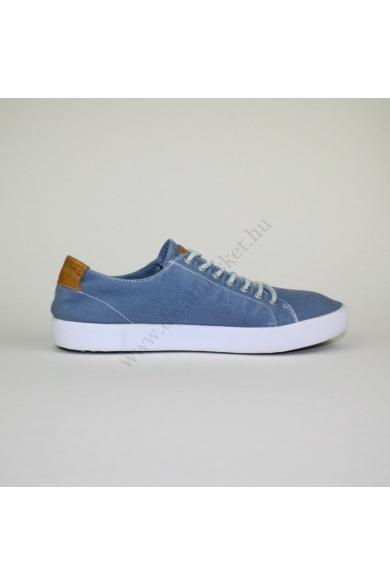 BLACKSTON férfi sportos cipő, kellemes kék színben, bőr anyagú extra puha kivehető talpbélése rendkívül kényelmes viseletet biztosít, uk7 41 méretben Állapota: újszerű Belső talphossz: 26.5 cm Sarokmagasság: 2 cm