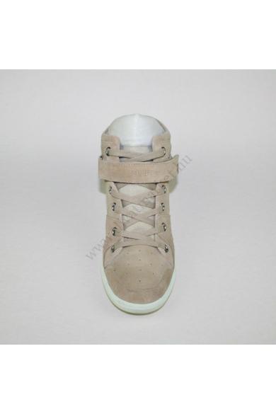SUPERDRY női bőr (velúr) ék(teli) talpú cipő (40)