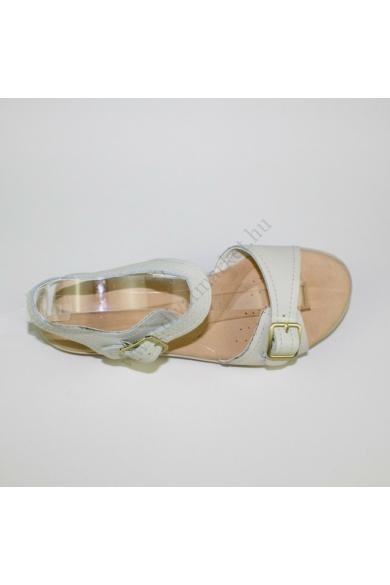 CLARKS női bőr kényelmi szandál (39)