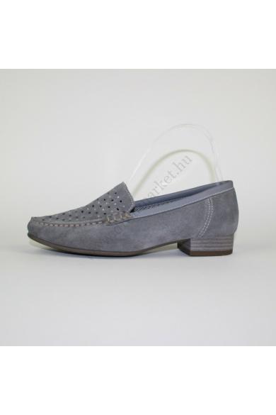 JENNY női bőr (velúr) cipő/mokaszin (37)