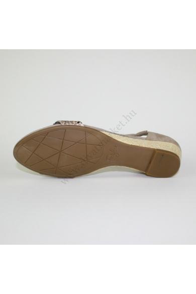 FOOTGLOVE női bőr(velúr) kényelmi szandál (41)