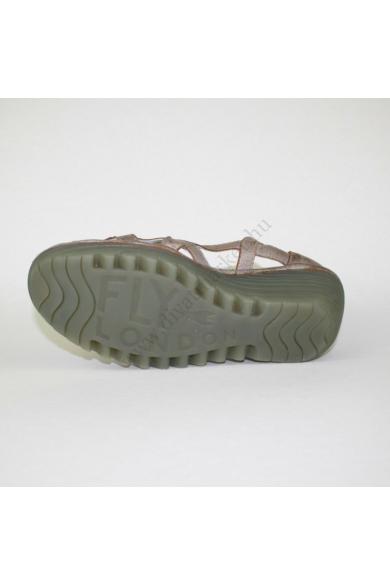 FLY LONDON női bőr ék(teli) talpú szandálcipő (41)