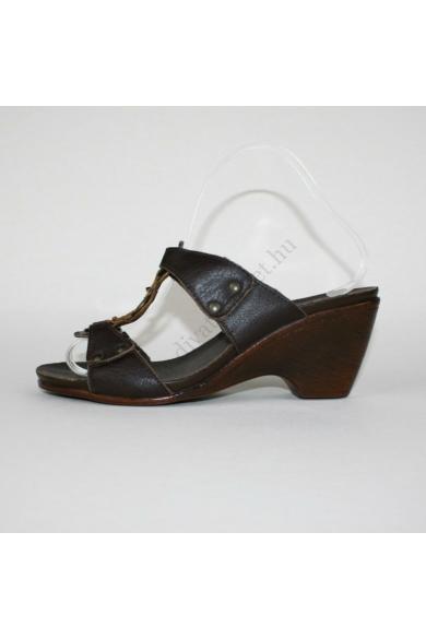NEXT női bőr ék(teli) talpú papucs (39)